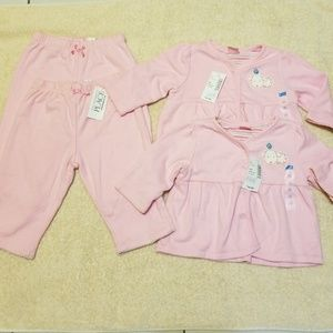 The Childrens place twins Baby Girl Set 3/6 mo